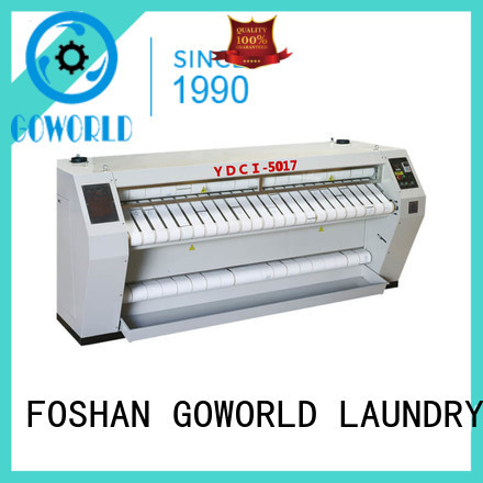 high quality flat work ironer machine style free installation for inns