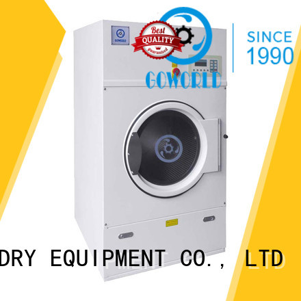 GOWORLD high quality tumble dryer machine low noise for laundry plants