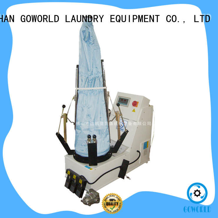 GOWORLD finisher laundry press machine for armies