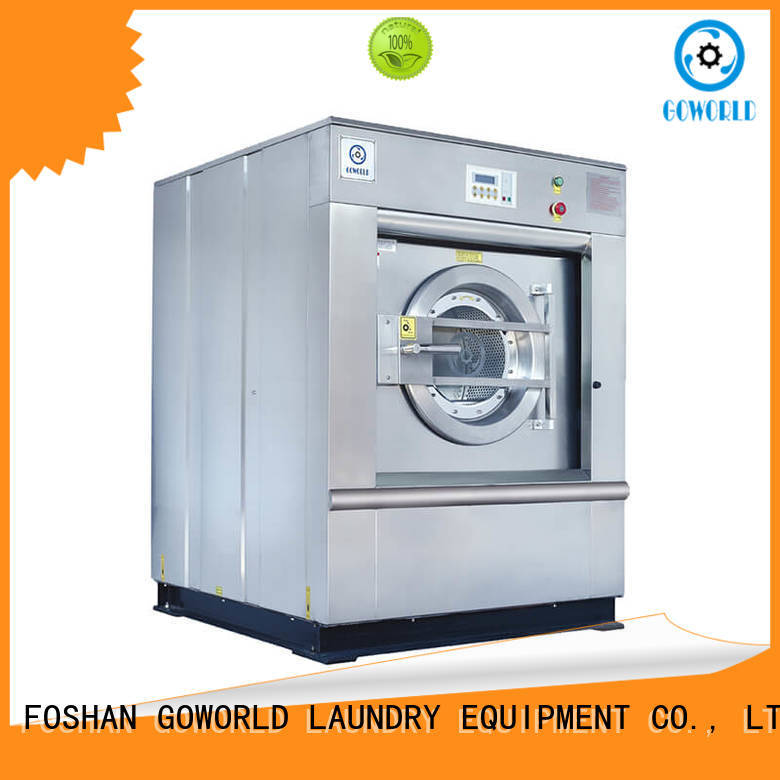 GOWORLD hard industrial washer extractor for sale for laundry plants