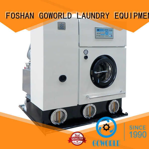 GOWORLD machine dry cleaning equipment energy saving for railway company