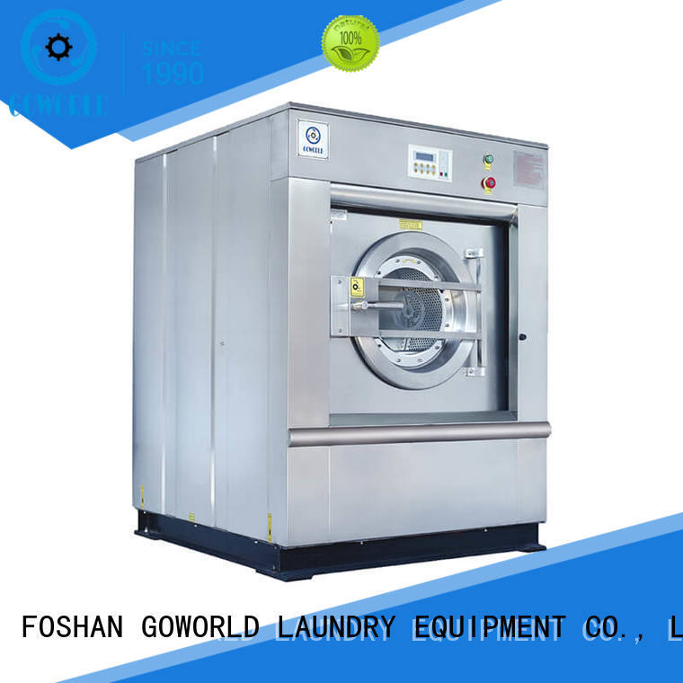 GOWORLD automatic washer extractor simple installation for hotel