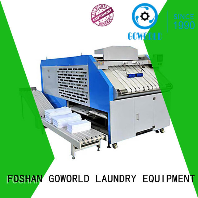 intelligent automatic towel folding machine factory price for laundry factory