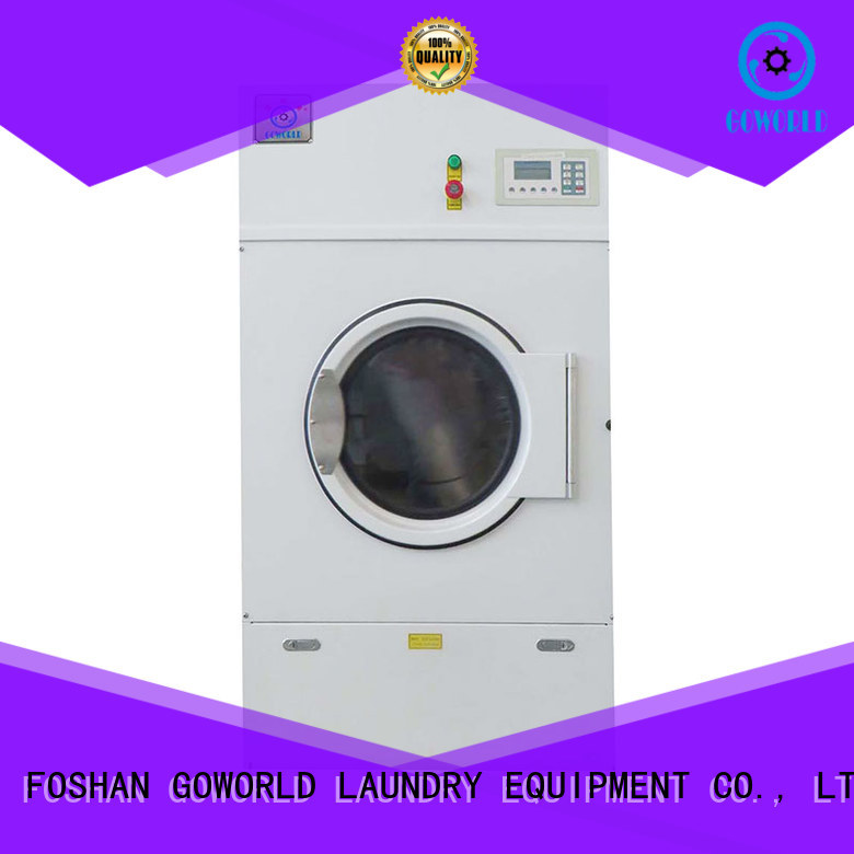 GOWORLD standard laundry dryer machine low noise for hotel