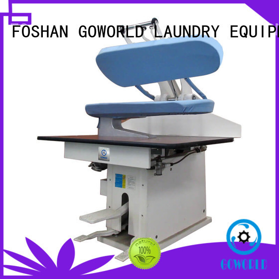 GOWORLD practical laundry press machine Manual control for laundry