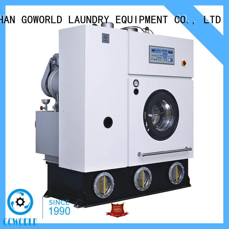 GOWORLD railway dry cleaning machine China for laundry shop