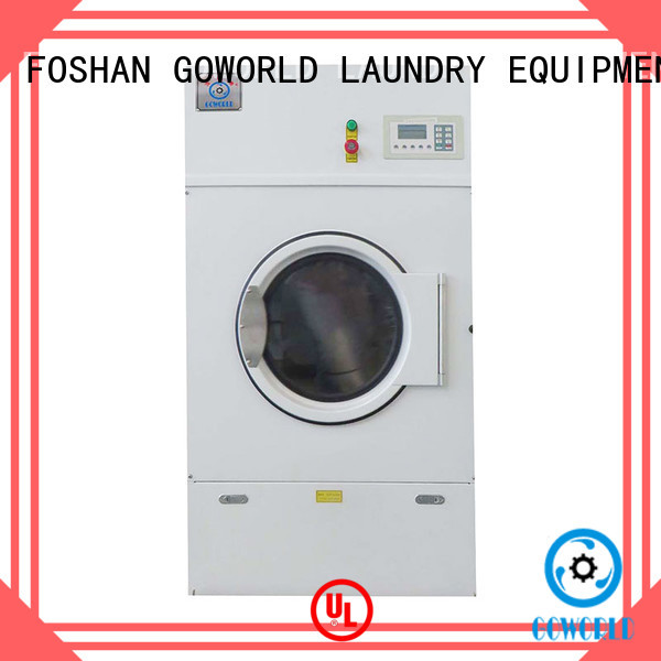 GOWORLD gas electric tumble dryer low noise for hospital