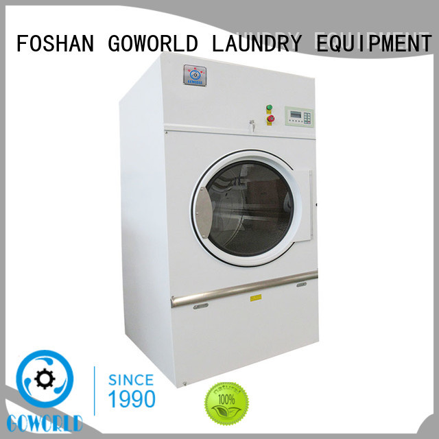 GOWORLD safe tumble dryer machine for high grade clothes for hospital
