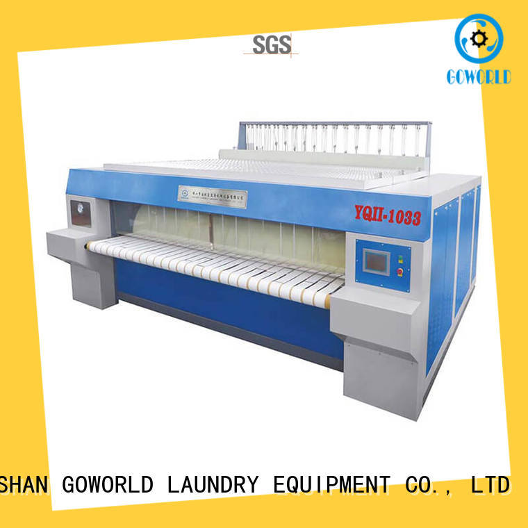 high quality flatwork ironer ironing free installation for hotel