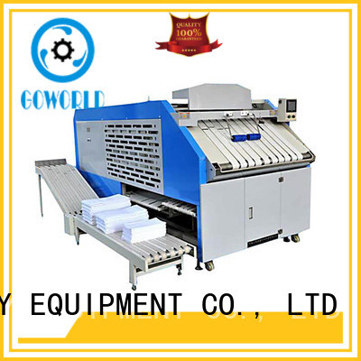 GOWORLD safe automatic towel folder high speed for medical engineering