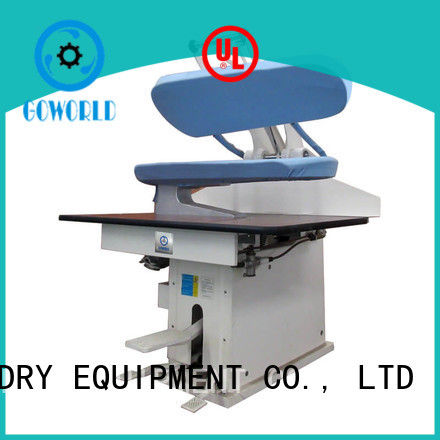GOWORLD laundry pressing equipment grade for dry cleaning shops