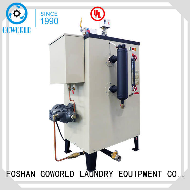 GOWORLD safe laundry steam boiler environment friendly for fire brigade