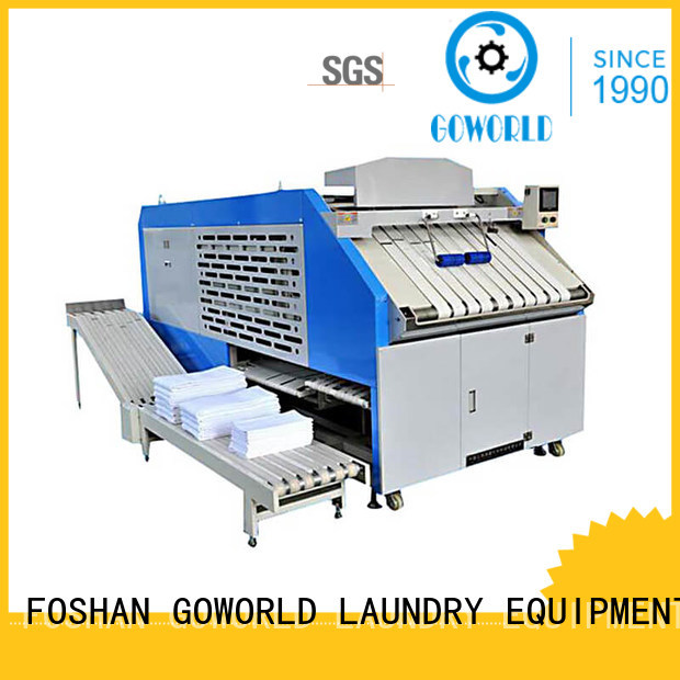 safe towel folding machine engineering factory price for medical engineering