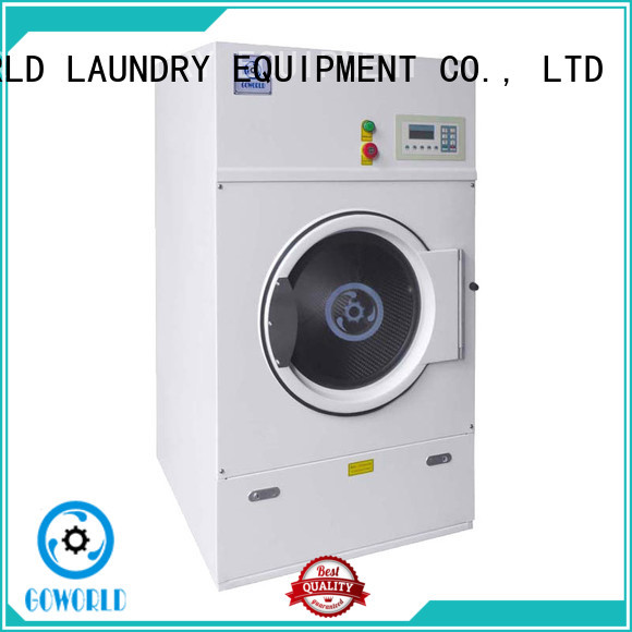 GOWORLD standard electric tumble dryer simple installation for laundry plants