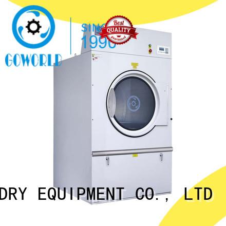 GOWORLD standard clothes dryer machine 8kg150kg for inns