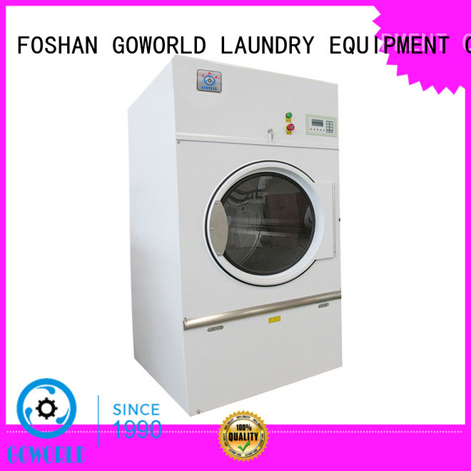 GOWORLD tablecloths laundry dryer machine simple installation for hospital
