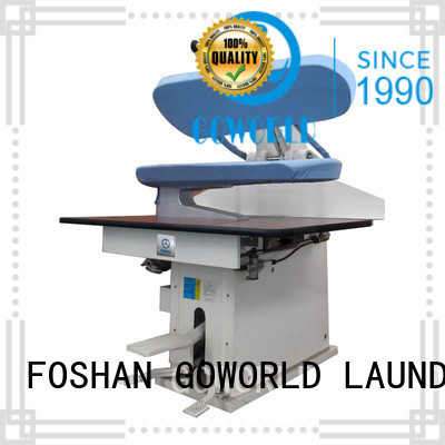 garment utility press machine hotel,hospital,laundry shop,railway company,armies,dry cleaning shops,and garments factories GOWORLD