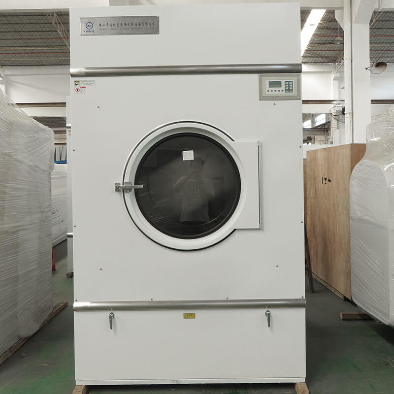 GOWORLD laundry tumble dryer machine simple installation for hospital-1