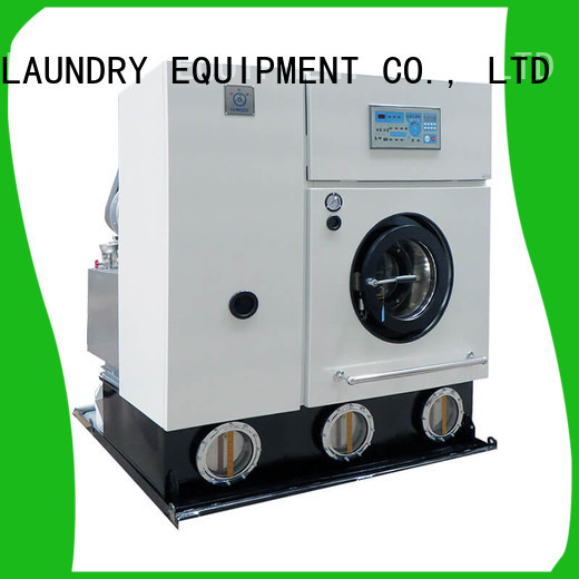 GOWORLD shoprailway dry cleaning equipment Easy operated for laundry shop