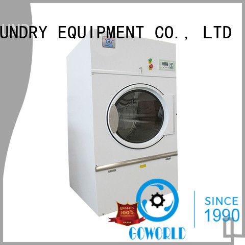 GOWORLD machine electric tumble dryer for high grade clothes for laundry plants
