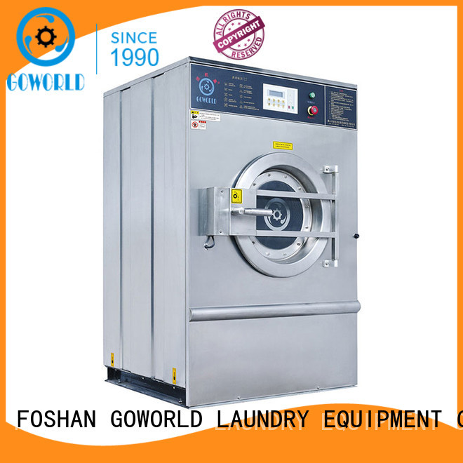GOWORLD energy saving commercial washer extractor easy use for hotel