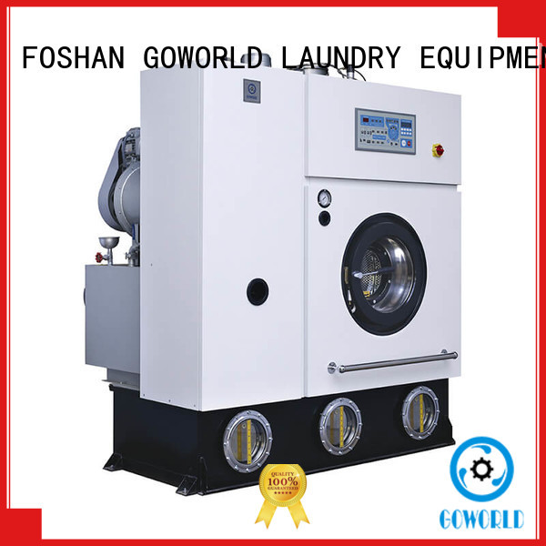 8kg14kg dry cleaning washing machine China for hotel GOWORLD