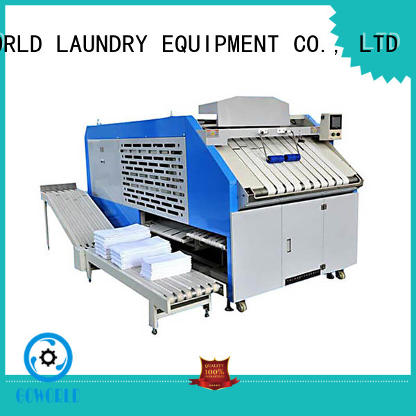 industrieslaundry towel folding machine intelligent control system for textile industries