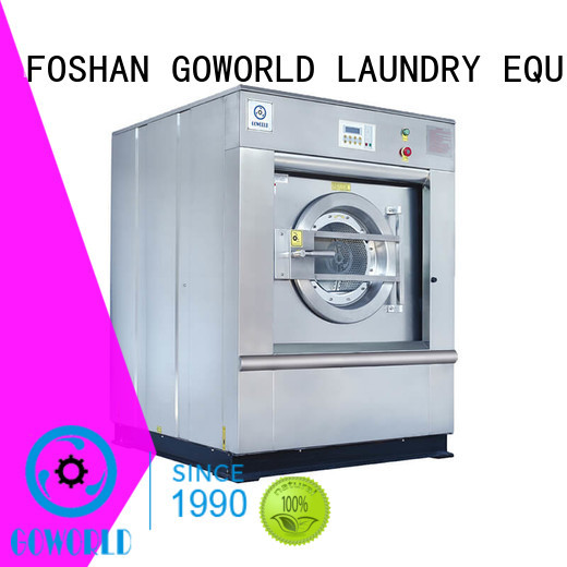 manual barrier washer extractor unit easy use for laundry plants