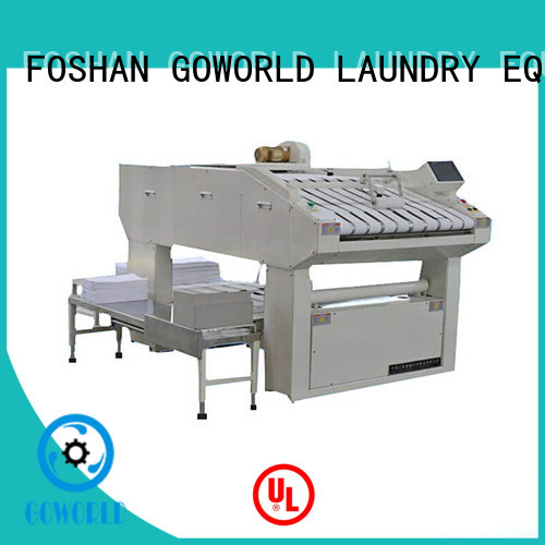 GOWORLD automatic towel folder intelligent control system for textile industries