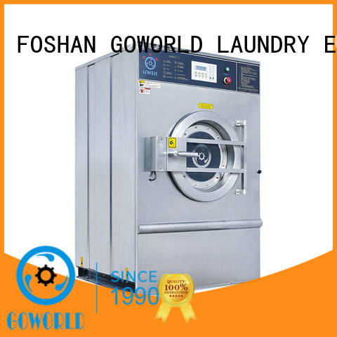 GOWORLD extractor washing machine for sale for laundry plants