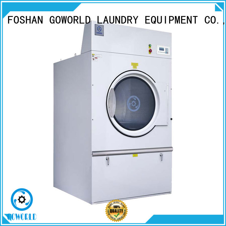 GOWORLD standard laundry dryer machine easy use for laundry plants