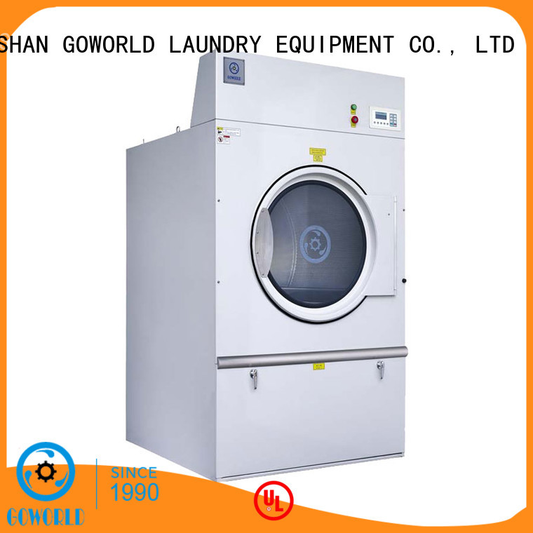 GOWORLD 8kg150kg tumble dryer machine for high grade clothes for inns