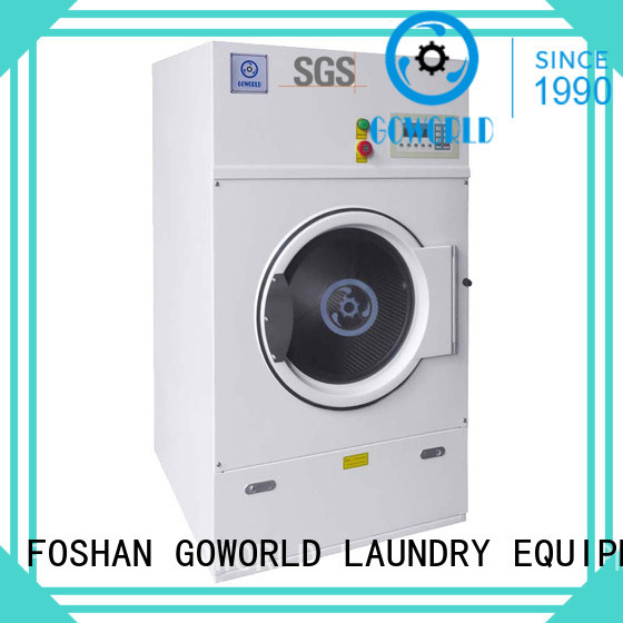 GOWORLD Stainless steel laundry dryer machine easy use for inns