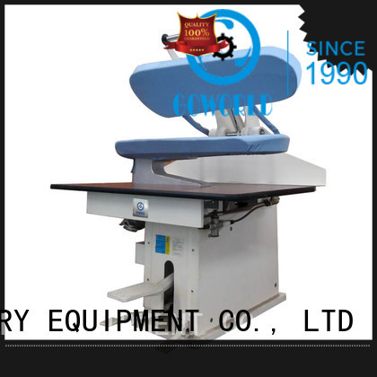 GOWORLD iron form finishing machine for dry cleaning shops