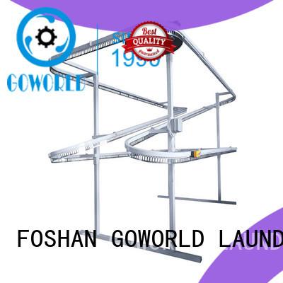 line clothes shirts conveyor spotting machine GOWORLD