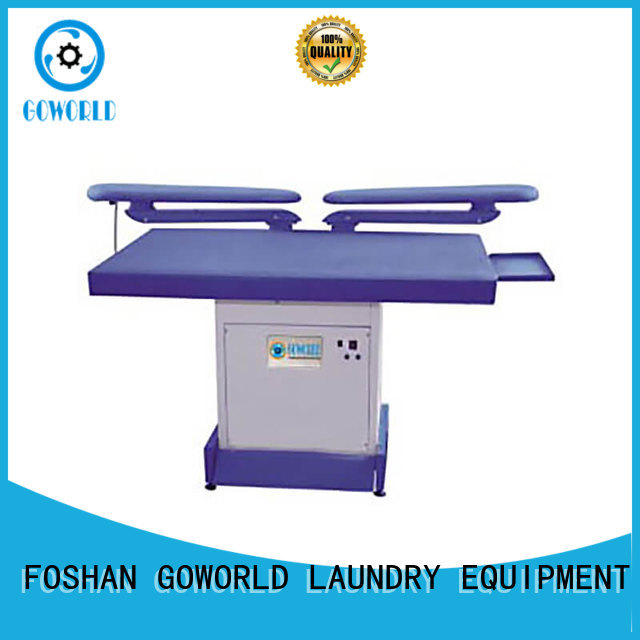GOWORLD series industrial iron press machine easy use for garments factories