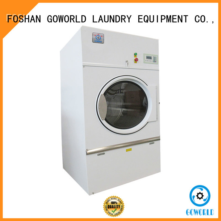 standard gas tumble dryer machine simple installation for hospital