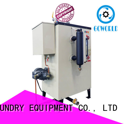 GOWORLD laundry gas steam boiler low noise for fire brigade