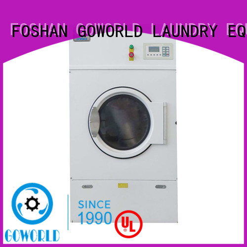 GOWORLD safe laundry dryer machine easy use for hospital