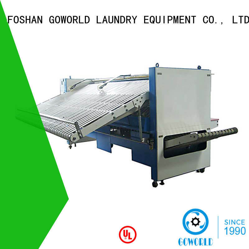 GOWORLD textile towel folder high speed for hotel
