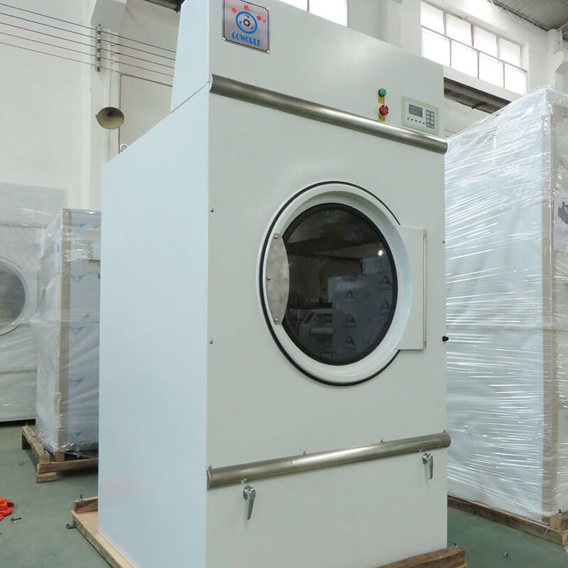 safe industrial tumble dryer commercial for drying laundry cloth for hotel-2