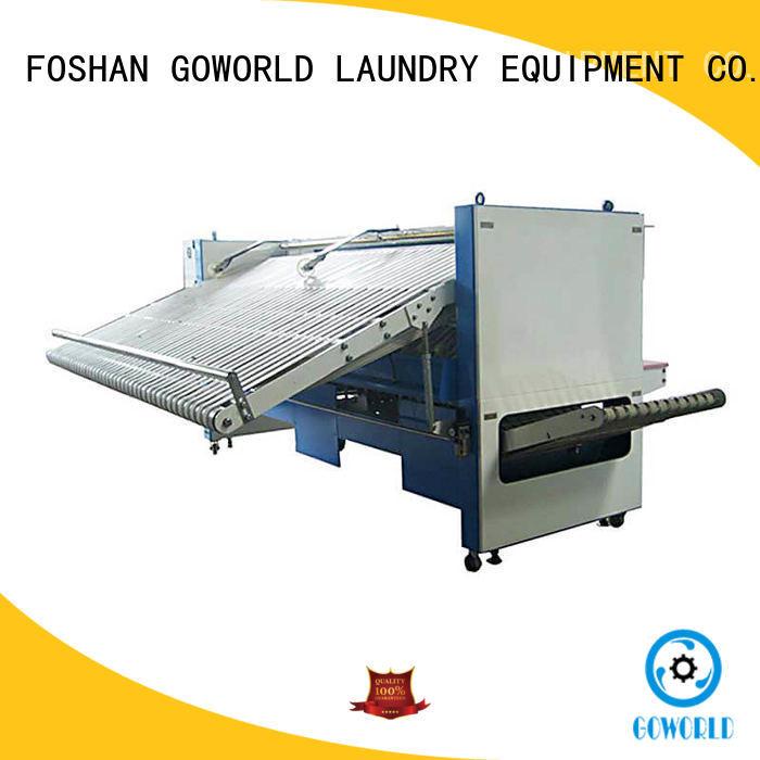 GOWORLD safe towel folder efficiency for medical engineering