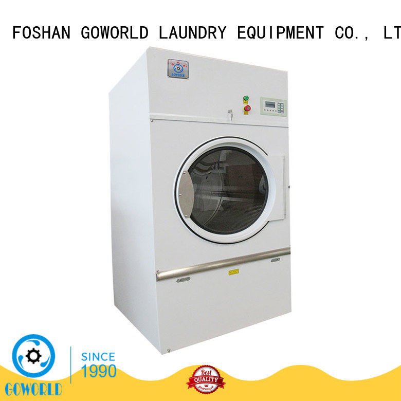 standard commercial tumble dryer simple installation for hotel GOWORLD