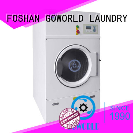 automatic gas tumble dryer commercial simple installation for laundry plants