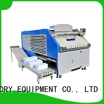 GOWORLD bed towel folding machine high speed for laundry factory