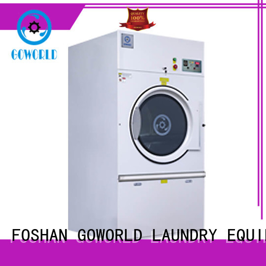 GOWORLD steady semi automatic laundry machine Easy to control for fire brigade
