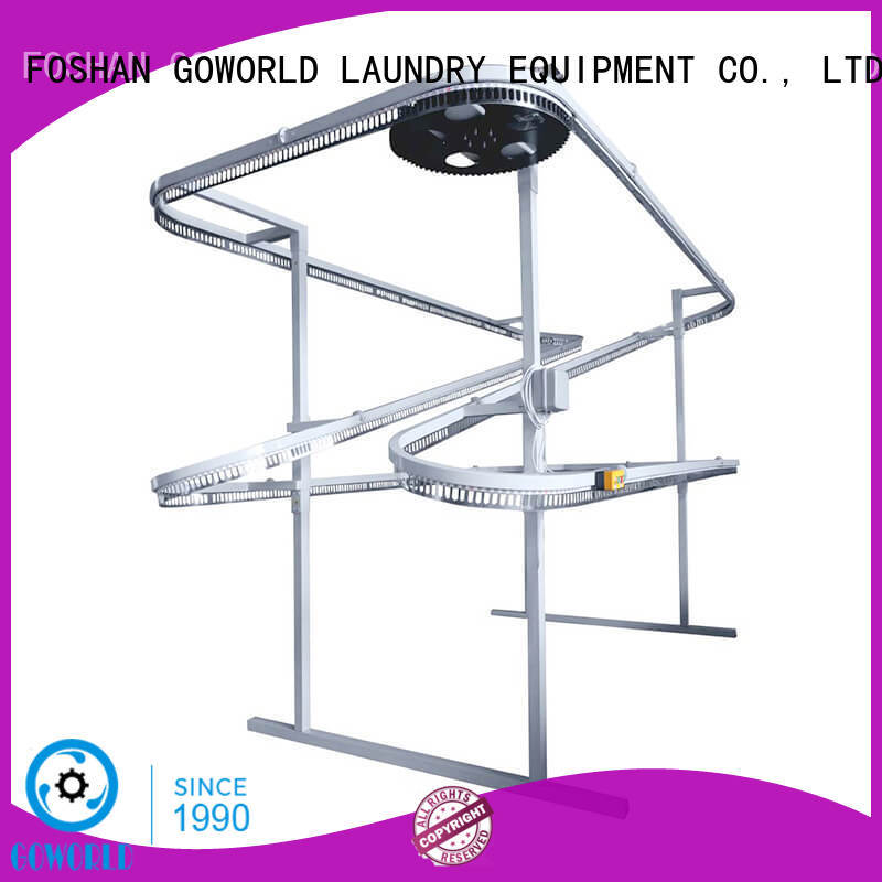 conveyor laundry packing machine supply for railway company GOWORLD