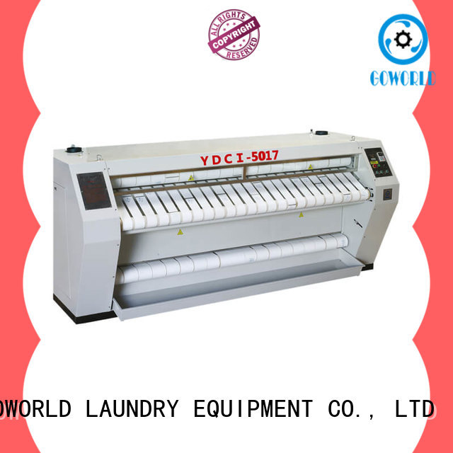 GOWORLD heat proof ironer machine for sale for hospital