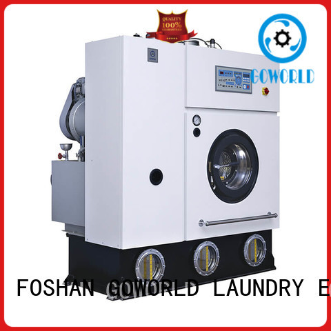 reliable dry cleaning machine environment for laundry shop