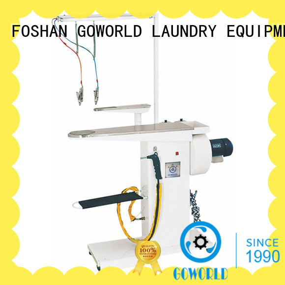 GOWORLD clothes spotting machine simple operate for hotel